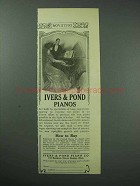 1913 Ivers & Pond Piano Advertisement