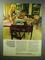 1969 Sears Kenmore Sewing Machine Ad - Rosemarie Bowe