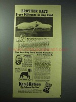 1940 Ken-L-Ration Dog Food Ad - Brother Rats Prove
