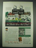 1934 Dutch Boy White-Lead Paint Ad - Looked Alike
