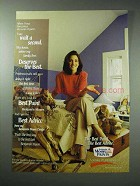 1997 Benjamin Moore Paint Ad - Wait A Second