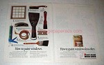 1991 Rust-Oleum Wood Saver Ad - Paint Windows Less