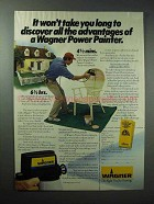 1984 Wagner Power Painter Ad - All the Advantages