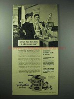 1946 Fuller Paints Ad - Plenty of Color in Every Room