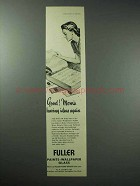 1945 Fuller Paints and Wallpaper Ad - Having Ideas