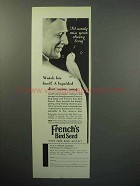 1933 French's Bird Seed Ad - Miss Your Cheery Song