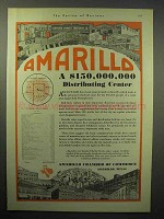 1930 Amarillo Chamber of Commerce Ad - Distributing