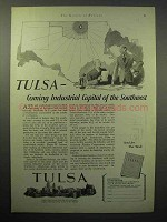1930 Tulsa Oklahoma Chamber of Commerce Ad - Industrial