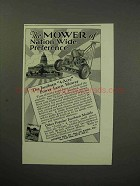 1930 Jacobsen 4-Acre Power Lawn Mower Ad