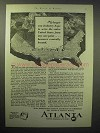 1929 Atlanta Chamber of Commerce Ad - Industry Serve