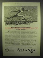 1929 Atlanta Chamber of Commerce Ad - Most Important