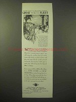 1929 United Fruit Co. Great White Fleet Cruise Ad