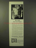 1929 Oshkosh Pullman Wardrobe Trunk Ad - Never Forgets