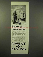 1926 Bryant Gas Heating Ad - Banish Heating Cares
