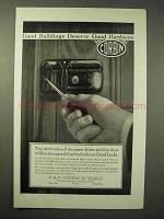 1926 Corbin Hardware Ad - Night Latch 356
