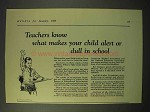 1926 Cream of Wheat Cereal Ad - Teachers Know Alert