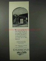1925 Oshkosh Trunk Ad - Railroads Have Become Bigger