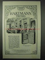 1925 Hartmann Trunk Ad, Ease of Operation, Apparel Care