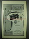 1925 Russwin Hardware Ad - Adaptable for Your Garage