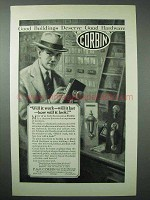 1925 Corbin Hardware Ad - Will it Work, Will it Last?