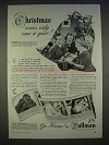 1940 Pullman Train Ad - Christmas Comes Once a Year