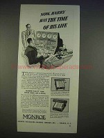 1940 Monroe Adding Calculator Ad - Time of His Life