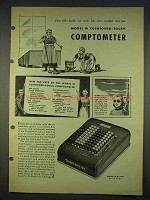 1940 Model M Cushioned-Touch Comptometer Advertisement