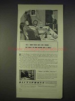 1940 Dictaphone Machine Ad - I Know You're Busy