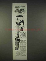 1940 Martini & Rossi Vermouth Ad - Should Be Really Dry