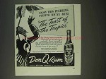 1940 Don Q Rum Ad - The Toast of the Tropics