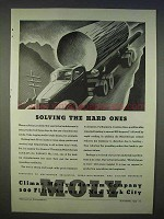 1939 Climax Molybdenum Ad - Solving the Hard Ones