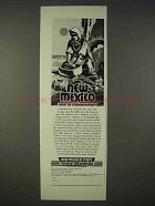 1939 New Mexico Tourist Ad - Land of Enchantment