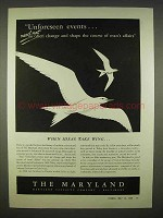1938 The Maryland Casualty Insurance Ad - Take Wing