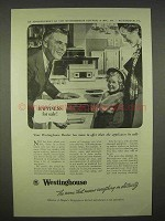 1938 Westinghouse Electric Ad - Happiness for Sale