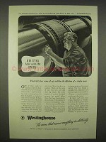 1938 Westinghouse Electric Ad - Eyes Have Seen Story