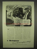 1938 Westinghouse Electric Ad - Born Years Too Soon