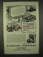 1937 Eveready Prestone Anti-Freeze Ad - Next Time
