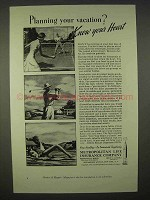 1937 Metropolitan Life Insurance Ad - Know Your Heart