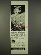 1936 Spring Air Mattress Ad - Youthfulness