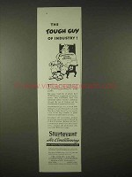 1935 Sturtevant Air Conditioning Ad - The Tough Guy