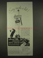 1935 Kool Cigarettes Ad - Every Smoke a Hit