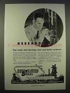1946 Inland Steel Ad - Research