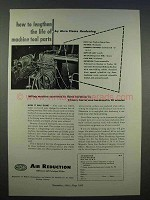 1946 Airco Flame Hardening Ad - Machine Tool Parts
