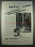 1946 Airco Flux Feeder Unit Ad - Oxyacetylene Flame