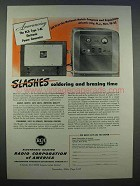 1946 RCA Type 1-AL Electronic Power Generator Ad