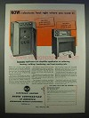 1946 RCA 15-kw Power Generator, Applicator Unit Ad