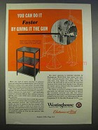 1946 Westinghouse Weld-O-Trol Ad - Giving it the Gun