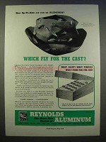 1946 Reynolds Aluminum Ad - Which Fly for The Cast?