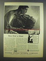 1946 United States Rubber Company Ad - Boss a Giant