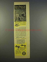 1946 New Idea Corn Pickers Ad - Harvest Security